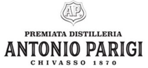 AP ANTONIO PARIGI PREMIATA DISTILLERIA CHIVASSO 1870 trademark