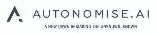 AUTONOMISE.AI  A NEW DAWN IN MAKING THE UNKNOWN, KNOWN trademark