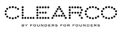 CLEARCO BY FOUNDERS FOR FOUNDERS trademark